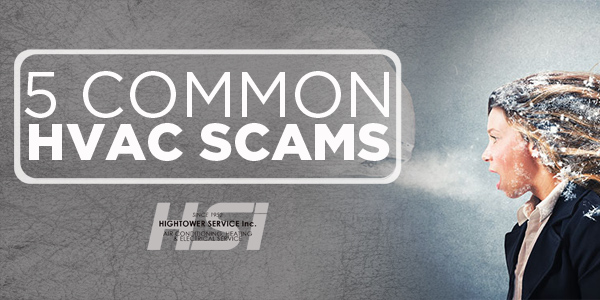 5 Common HVAC Scams